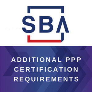 Additional PPP Certification Requirements